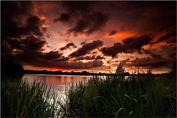 Willen Sunset by BigCol