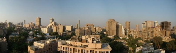 Cairo Skyline by JamesH81