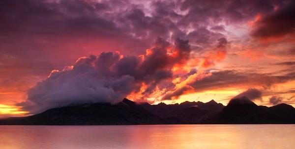 Fire in the mountain by treblecel