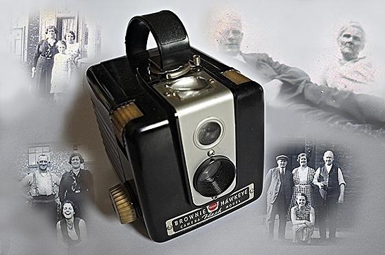 The Old Kodak Brownie Hawkeye Camera by DaveShandley