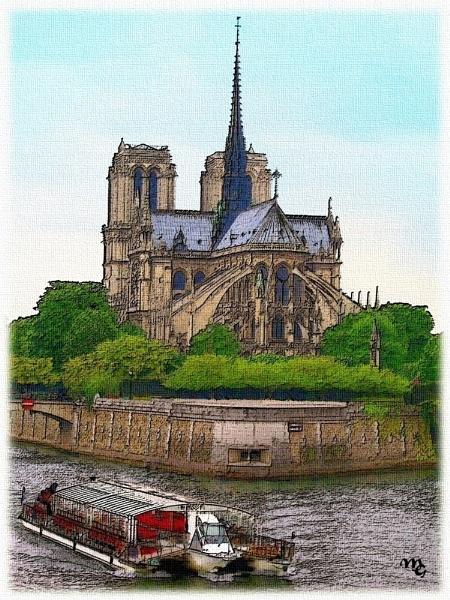Notre Dame de Paris by Ianto74