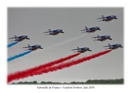 Patrouille de France - Fairford Airshow 2010