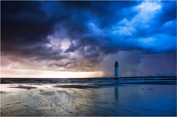 Approaching Storm by Anthony