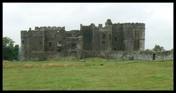 views Carew Castle Wales by graceland