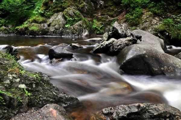 Little Fawn Waterfall by billmac57