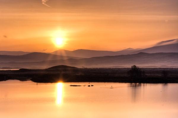 Rannoch Moor Sunrise by darrenackers