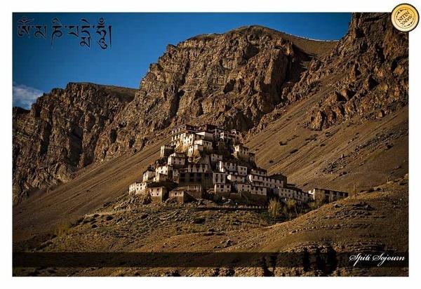 Ki Monastery, Himachal, India by nitinhopeindia