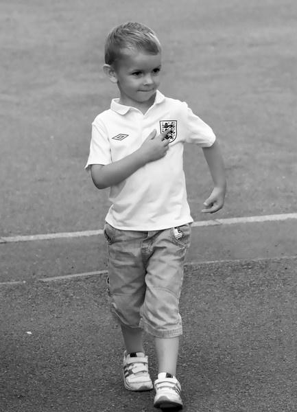 Numero uno England fan! by Nick_G
