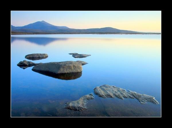 Dusk Loch Druidibeg by jdgrimsay