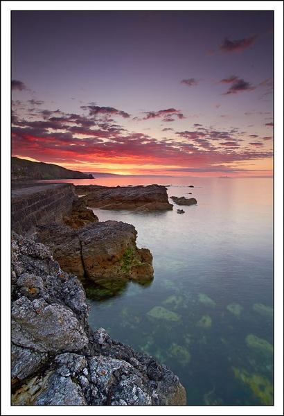 Port Muck Sunset by srh