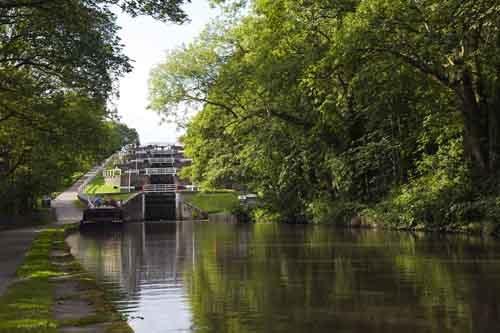 5 Rise Locks, Bingley by phill