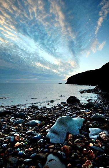 Trefin Seascape by simonjr