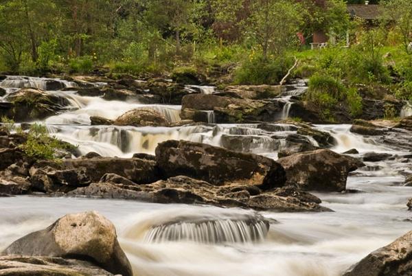 Falls of Dochart by sandyd