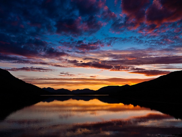 Loch Leven Sunset by JGCurry