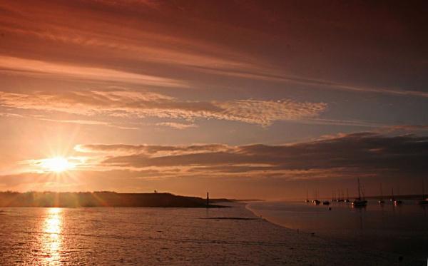 First Light at North Fambridge by susanbarton