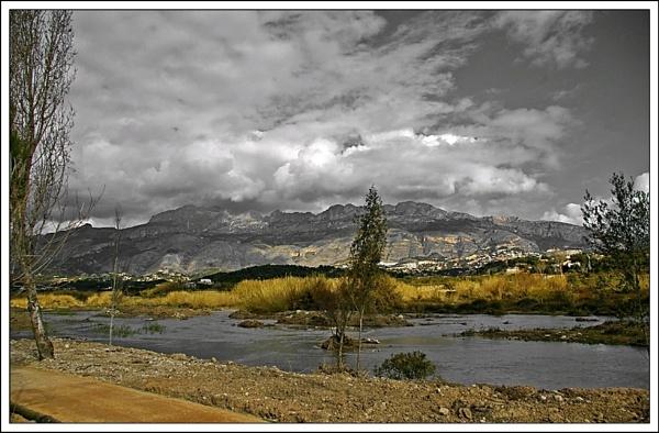 Altea mountain by cedaray