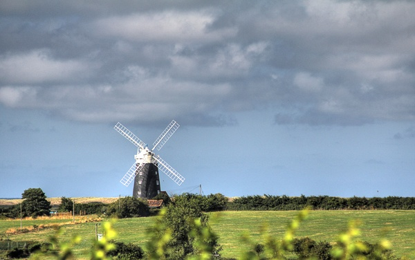 Burnham Overy Windmill by ironman