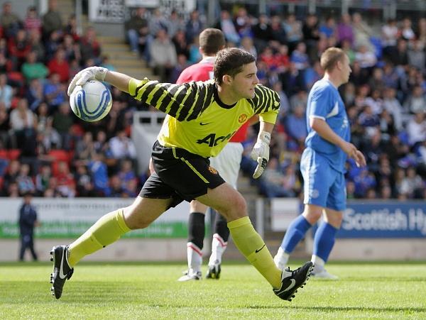Alan Main Testimonial Match. Perth July 31st 2010. St Johnstone V\'s a Manchester United 11. by greenkeeper