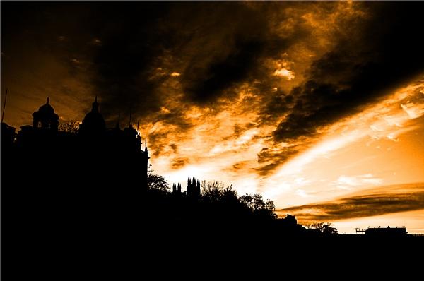 Burning Sky by claremartin