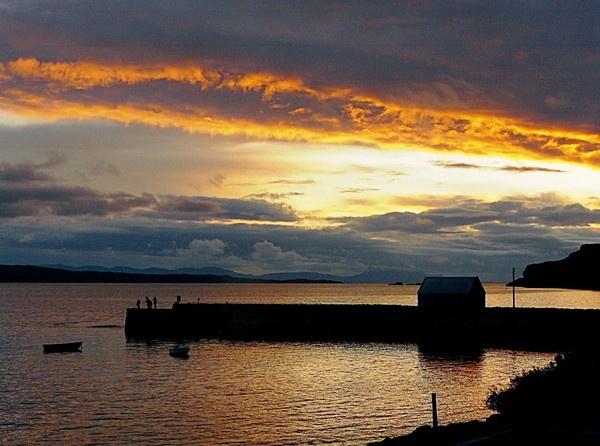 Scotish Sunset. by bazmorgan