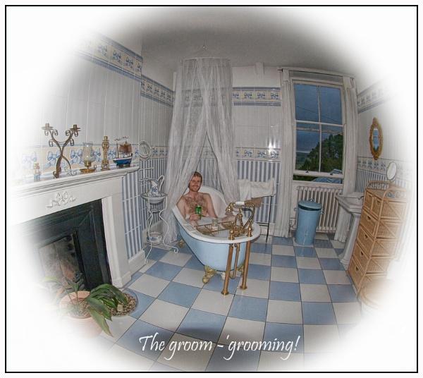 The groom is grooming! by janehewitt
