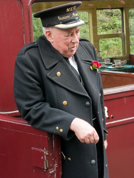 Bill the Station Master by landscapepics