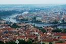 Prague from a distance