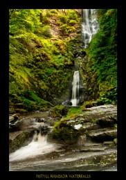 Pistyll Rhaeadr Waterfalls