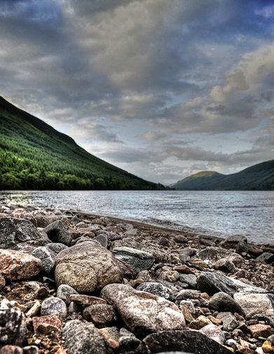 "\""The shore\'s of Loch Ness\"" by DavidDingle1"