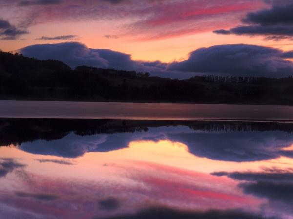 Sunset Clunie Loch by jmcca