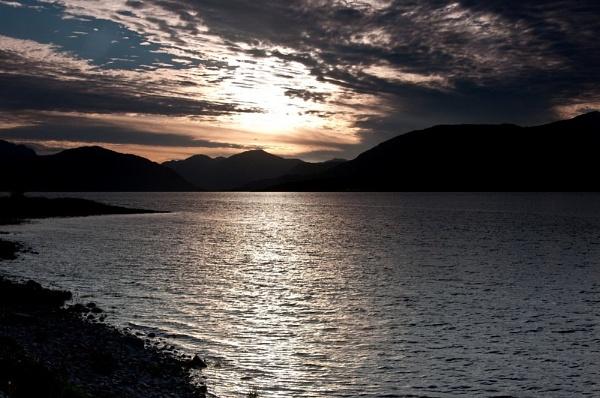 Loch Linnhe Sunset by colmar