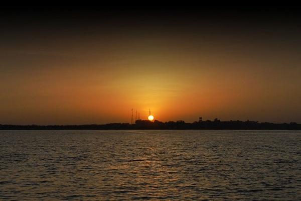 Lake Sunset Beyond My Place by konu