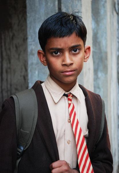 Schoolboy in Udaipur by violet_girl
