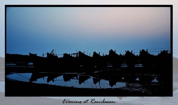 Evening at Ranibasan by Ananda