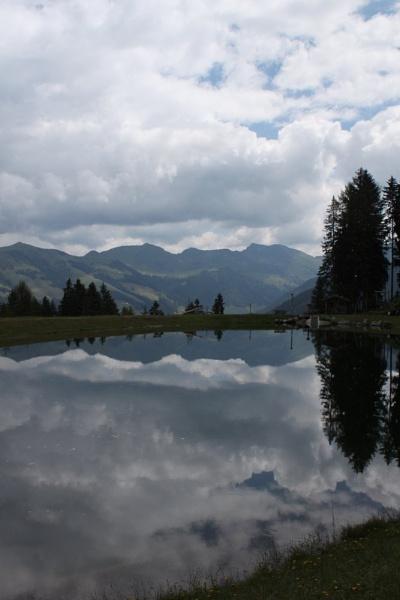 Mountain Lake Reflection by Ben10