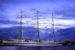 The Tall ship Mir (Blyth)