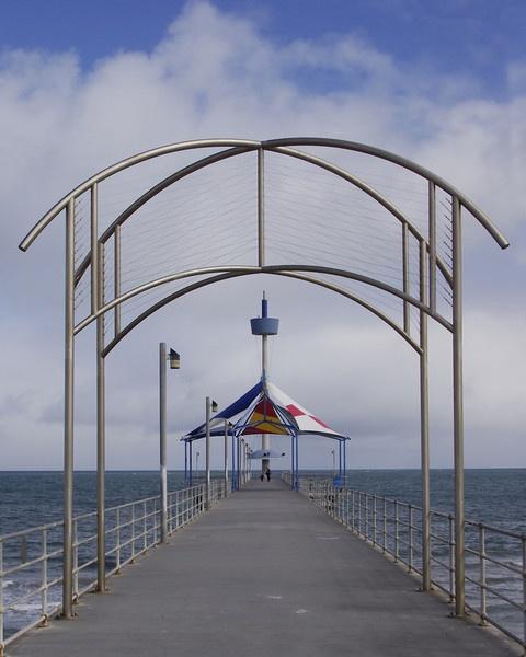 Cold on the Pier. by bigredtim