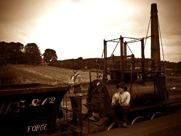 Railway Men by GalleryNorth