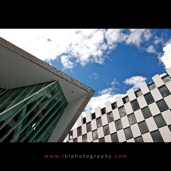 Grand Canal Theatre, Dublin by ihlphotography