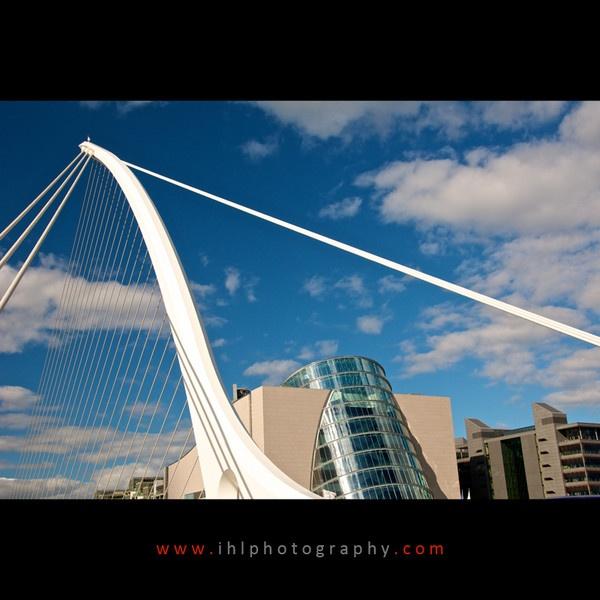 Samuel Beckett Bridge and Convention Centre, Dublin by ihlphotography