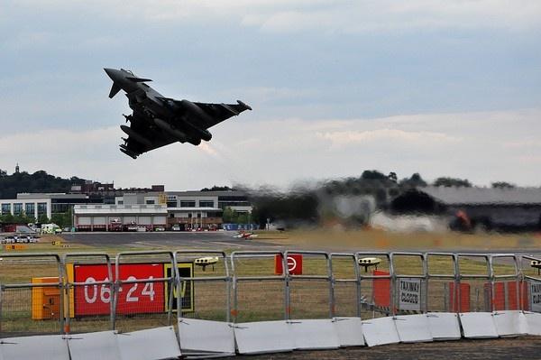 Eurofighter - Lift off ! ! ! by MTFernandes