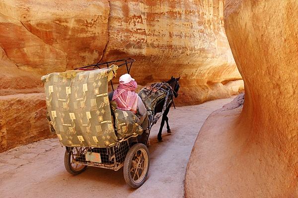Petra, Wadi Musa by jimshannon
