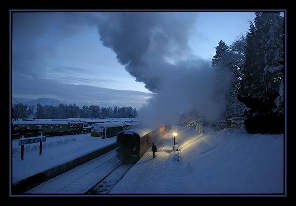 Strathspey Railway 6 by DHouston