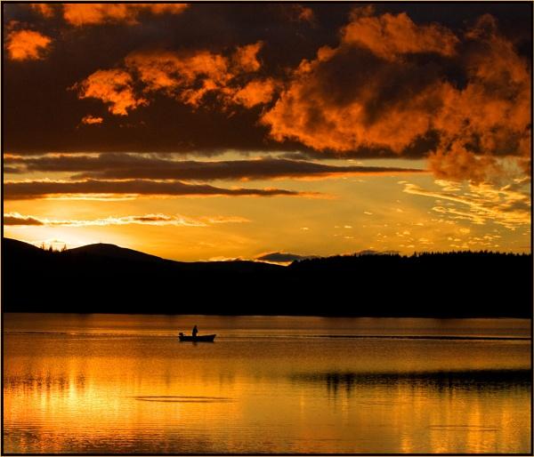 Golden Hour, Lintrathen by MalcolmM
