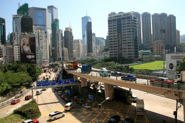 Hong Kong street by brianwakeling