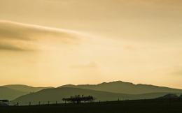 Little Glenshee at Sunset