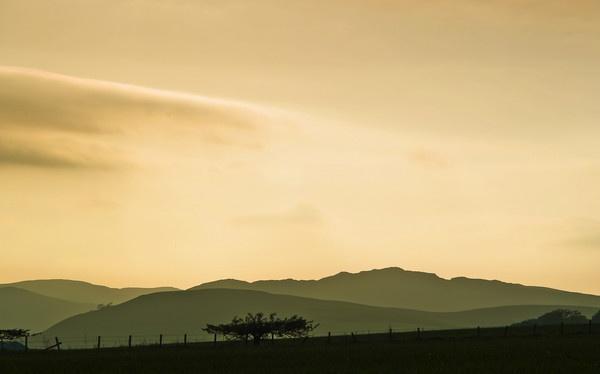Little Glenshee at Sunset by jmcca