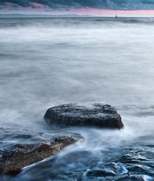 Twilight at Nash Beach by alecs