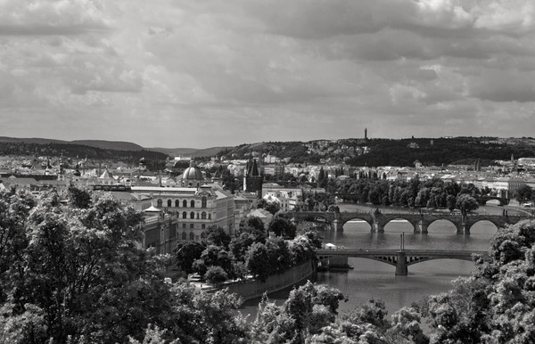 Prague in Mono by 66dougie