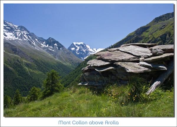 Mont Collon by heffalump